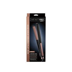 """Conair Makeup - InfinitiPRO by Conair NIB 1"""" Rose Flat Iron"""